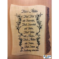 Hibás áru, Házi áldás falikép fából 2.