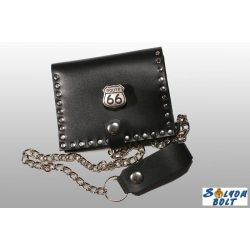Leather wallet, Route 66