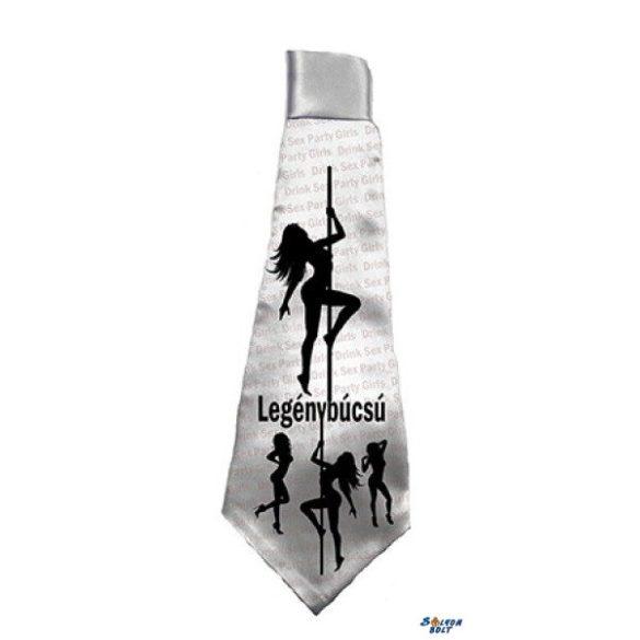 Nyakkendő, legénybúcsú folyamatban