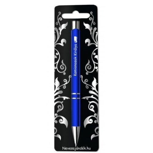 Gravírozott toll, Kamionosok királya, kék