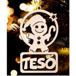 Karácsonyfa dísz, Tesó, manó