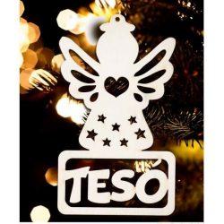 Karácsonyfa dísz, Tesó, angyal