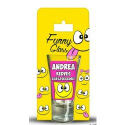 Andrea pálinkás pohár