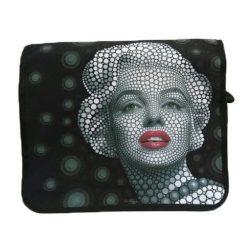 Marilyn Monroe, gyöngyvászon oldaltáska, válltáska