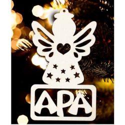 Karácsonyfa dísz, Apa, angyal