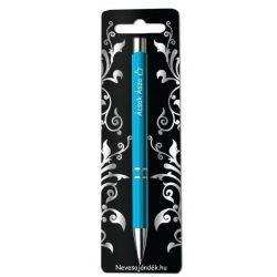 Gravírozott toll, Ácsok ásza, kék