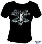 Avenged Sevenfold, női zenekaros póló, kifutó termék, S
