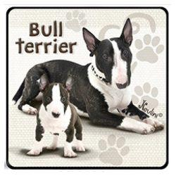 Kutyás hűtőmágnes, Bull Terrier