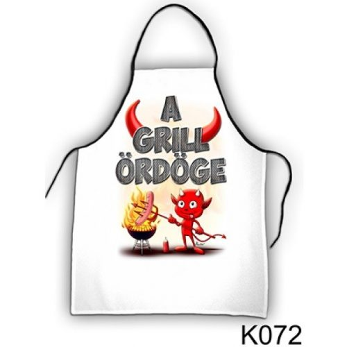 Szakács kötény, A grill ördöge
