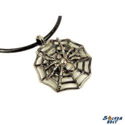 Pókháló nyaklánc