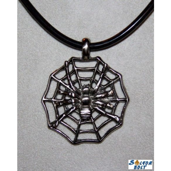Necklace, spider web