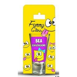 Bea pálinkás pohár