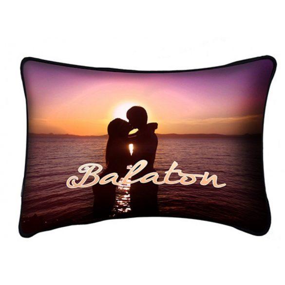 Balaton díszpárna, szerelmes pár