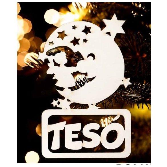 Karácsonyfa dísz, Tesó, hold