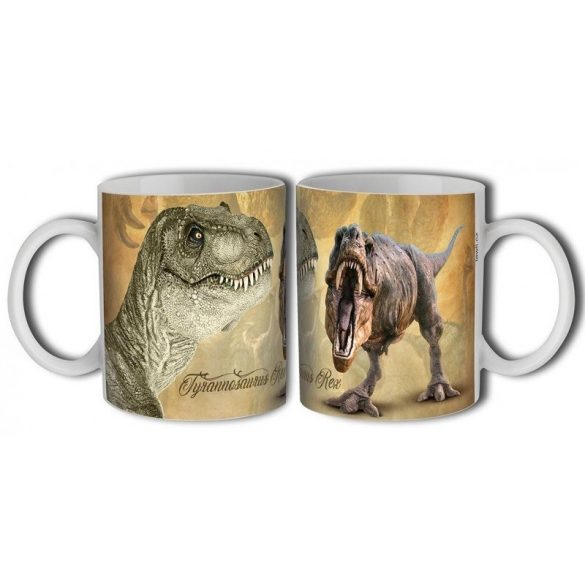 Dinós bögre, T Rex