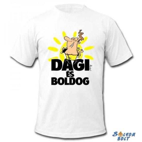 Vicces póló, Dagi és boldog