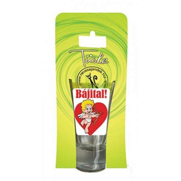 Pálinkás pohár, Bájital