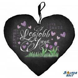 Szív alakú párna, Anyák napja, A legjobb anya