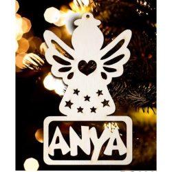 Karácsonyfa dísz, Anya, angyal