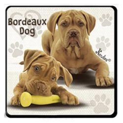 Kutyás hűtőmágnes, Bordeaux Dog