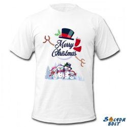 Karácsonyi póló, Hóember család