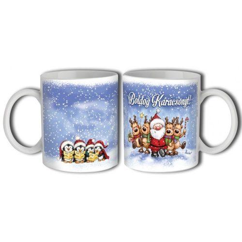 Bögre karácsonyra, Mikulás és rénszarvasok