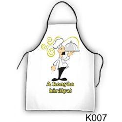 Szakács kötény, A konyha királya