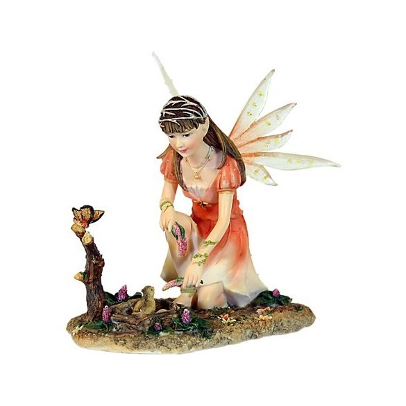 Tündér kismadárral, Curarise szobor