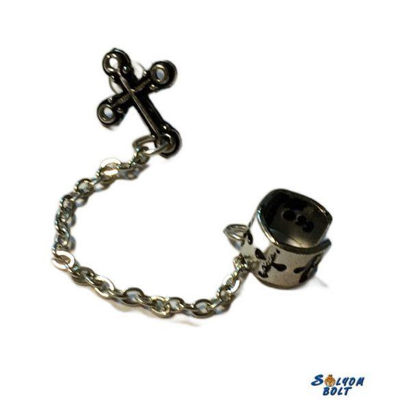 Kereszt fülbevaló (db)