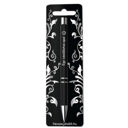 Gravírozott toll, Egy csodálatos apa, fekete