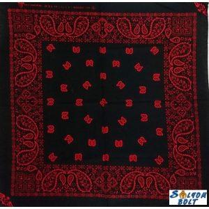 Fekete-piros kendő