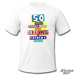 Születésnapi póló, 50 évembe került, 2XL