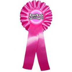 Díjszalag születésnapra, Boldog szülinapot, rózsaszín