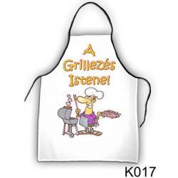 Szakács kötény, A grillezés istene