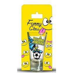 Pálinkás pohár, Legjobb focista