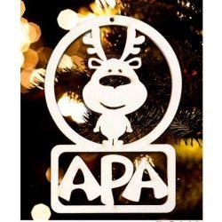 Karácsonyfa dísz, Apa, rénszarvas