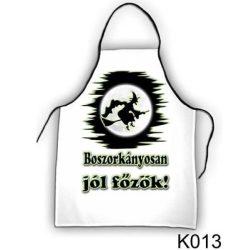 Szakács kötény, Boszorkányosan jól főzök