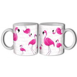 Bögre, Flamingók