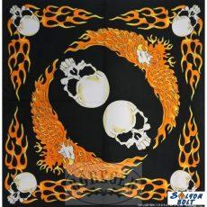 Koponyák piros sassal kendő - Ajándéktárgyak ad8fac3b81