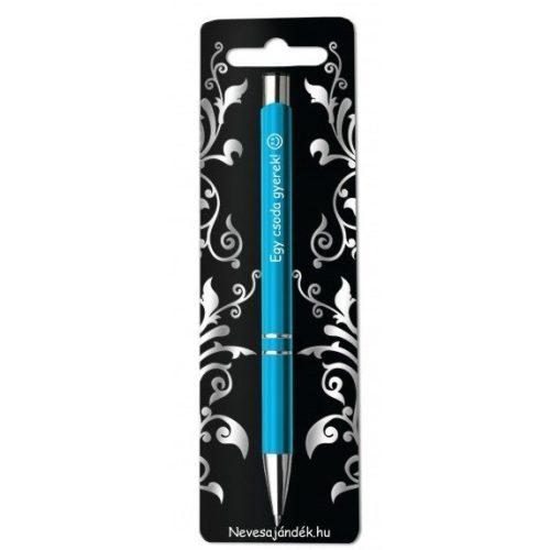 Gravírozott toll, Egy csoda gyerek, kék
