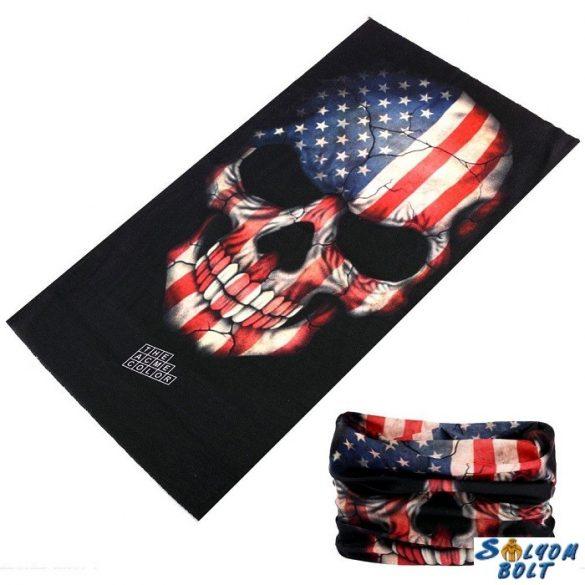 Csősál, amerikai zászlós koponya