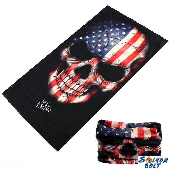f0cab36f80 Csősál, amerikai zászlós koponya - Ajándéktárgyak,neves és vicces ...