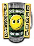 Vicces korsó, Stresszoldó
