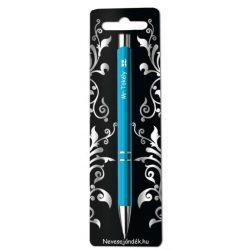 Gravírozott toll, Mr Tökély, kék
