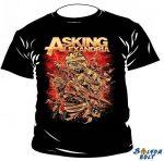 Asking Alexandria póló, kifutó termék, M