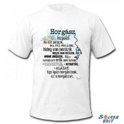 Vicces póló, Horgász becsület