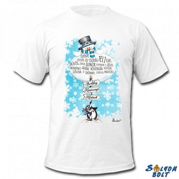 Karácsonyi póló, Hóember évente egyszer