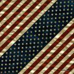Amerikai zászlós kendő