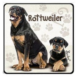 Kutyás hűtőmágnes, Rottweiler