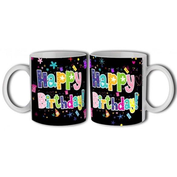 Bögre születésnapra, Happy Birthday